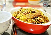 黄豆芽炒粉条的做法