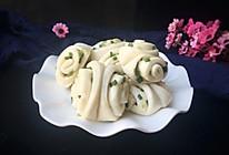 一次性发酵的简单易做的葱卷的做法