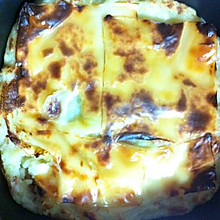 马苏里拉奶酪培根焗土豆泥