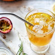 百香果红茶饮