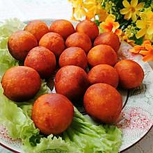 #合理膳食 营养健康进家庭#炸红薯丸子
