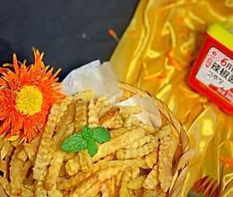 #一勺葱伴侣,成就招牌美味#炸薯条的做法