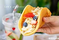 咸豆乳芝士蛋饼|香滑轻盈的做法