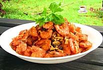 豆豉香酥虾的做法