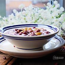 #洗手作羹汤# 红豆牛奶粥