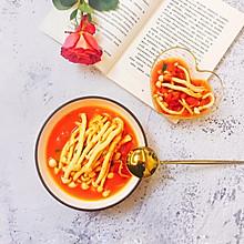 #有致家常菜#酸甜清香的茄汁海鲜菇