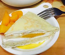 法式芒果千層蛋糕的做法