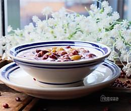 #洗手作羹汤# 红豆牛奶粥的做法