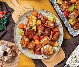 滋滋嫩烤肋排|高颜值烤肉的做法