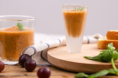 西班牙冷汤 与 节瓜奶汤|美食台