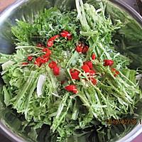 受欢迎年菜总结--凉拌苦菊的做法图解3