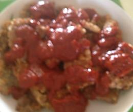 蕃茄里脊的做法