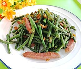 #中秋团圆食味#东北-红肠炒豇豆角的做法