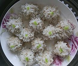 儿童营养餐—糯米肉丸子的做法