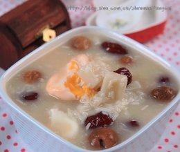 冬日里最温暖滋补的甜汤---酒酿年糕桂圆蛋的做法