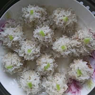儿童营养餐—糯米肉丸子