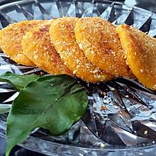 黄金软糯南瓜饼-用平底锅煎出来的健康美味