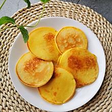#助力高考营养餐#奶香玉米饼