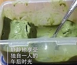 炎炎夏日一抹绿「抹茶冰激凌」的做法