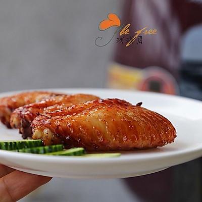 空气炸锅版蜜汁烤翅