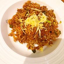 一锅鲜·牛绞肉蔬菜咖喱芝士炒饭
