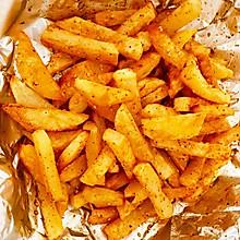 周末零食-烤薯条