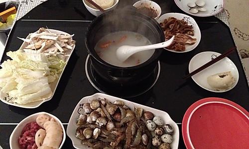 毋米粥火锅_家庭版的做法