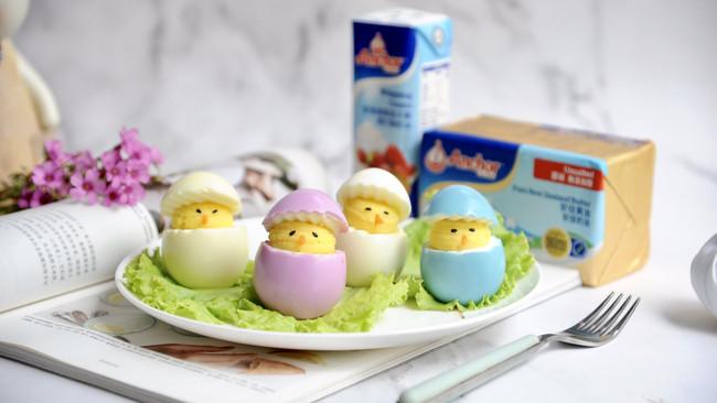 奶香鸡仔仔#安佳儿童创意料理#的做法