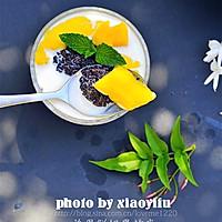 夏季不可错过的美味健康甜品--芒果鲜奶黑糯米的做法图解8
