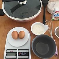 蕾丝~鸡蛋卷饼的做法图解1
