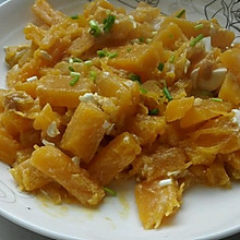 咸鸭蛋焗南瓜