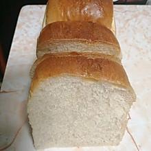 白吐司(简易版,面包机和面)