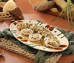 莲藕蒸肉饼(秋季就吃它)的做法