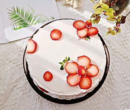 送你一个小红花蛋糕,要好好学习哦!的做法