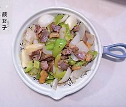 青椒炒腊肉#麦子厨房美食锅##人人能开小吃店#的做法
