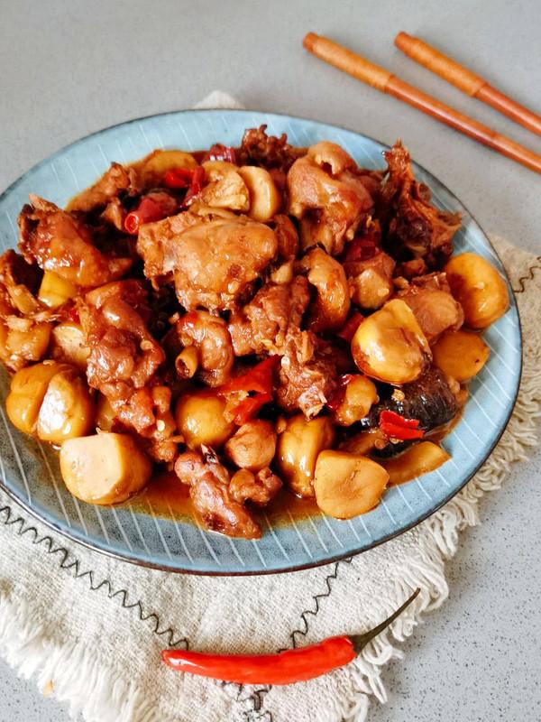 年夜饭菜谱1⃣香气四溢的板栗烧鸡❗爆好吃的做法