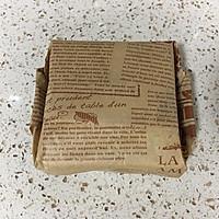 营养美味的芝士肉松三明治(含折纸法)的做法图解17