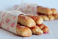 黑糖核桃面包棒的做法