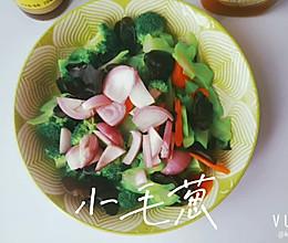 #做饭吧!亲爱的#凉拌四色蔬的做法