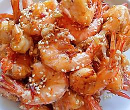 香酥可口的椒盐大虾的做法