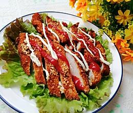 #合理膳食 营养健康进家庭#香酥炸鸡排的做法