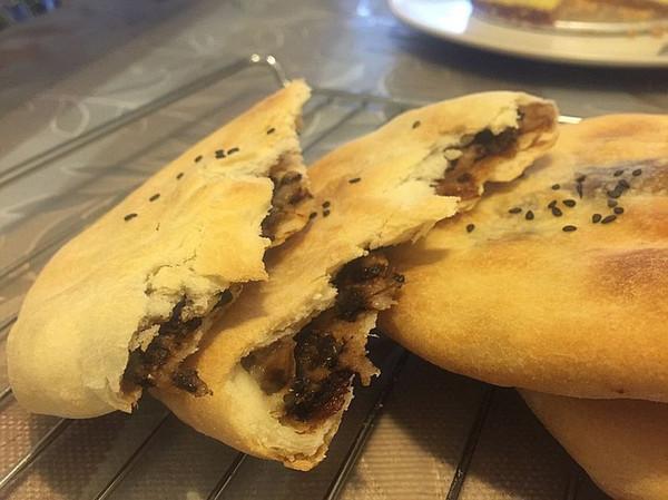 梅干菜烧饼的做法