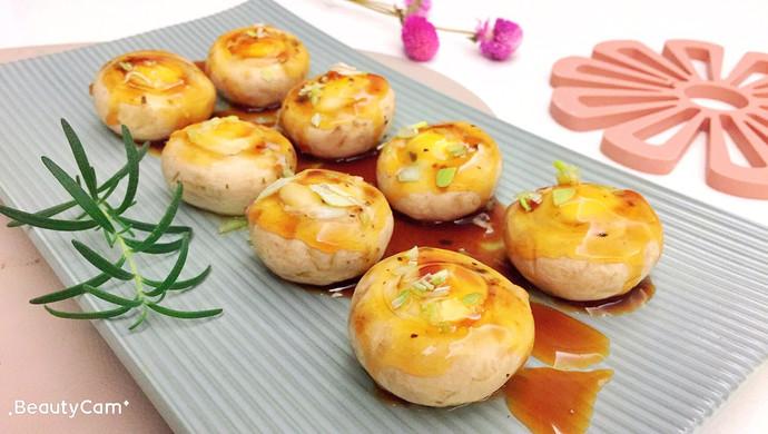 【新品】清蒸口蘑鹌鹑蛋