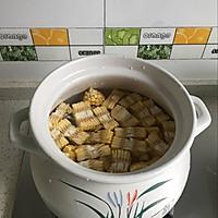 玉米苦瓜排骨汤的做法图解3