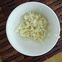 蒜蓉腊肉宝塔菜花的做法图解2