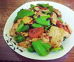 豆豉酱炒煎豆腐~的做法