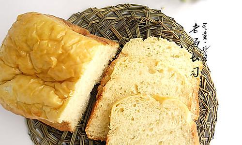 面包机版老面土司的做法