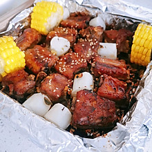 【香而不腻】蒜香烤排骨--肉汁满满‼️
