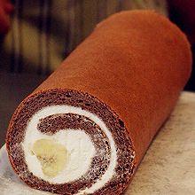 香蕉巧克力蛋糕卷
