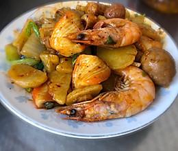 适合胶东半岛的麻辣香锅(咸香微辣口味)的做法